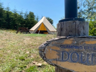 Glamping Camping with Glamor