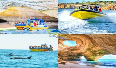 Boat Tour for Cave Watching | Fun in Albufeira!